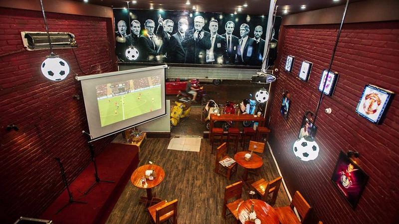 Ý tưởng thiết kế quán cafe bóng đá