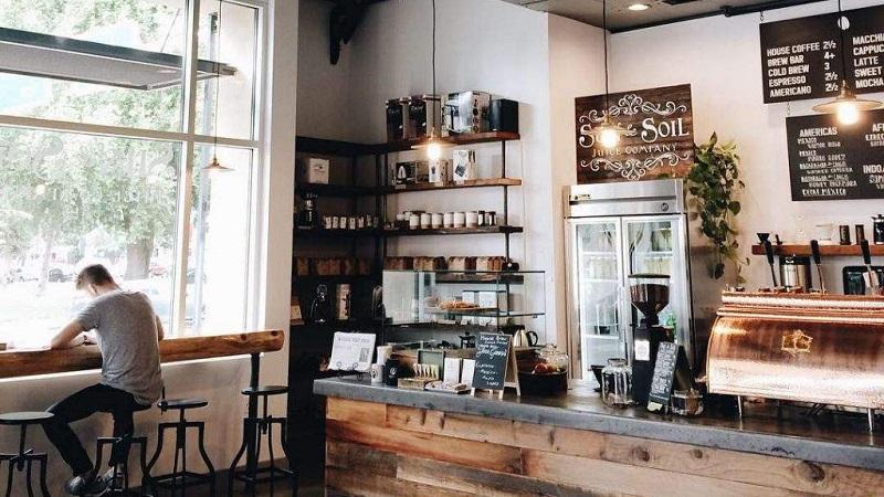Ý tưởng thiết kế quán cafe gỗ