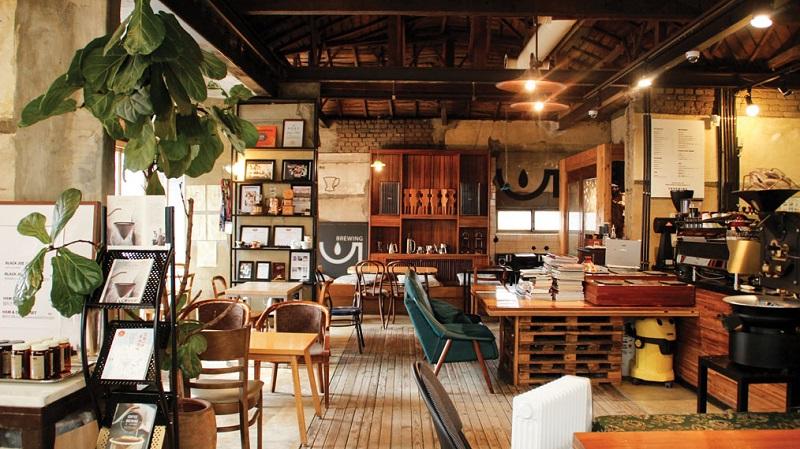 Ý tưởng thiết kế quán cafe theo phong cách hàn quốc