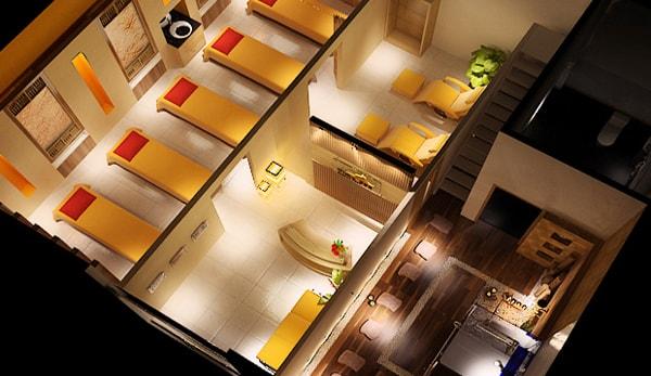 Thiết kế thi công nội thất Spa - Thẩm mỹ viện
