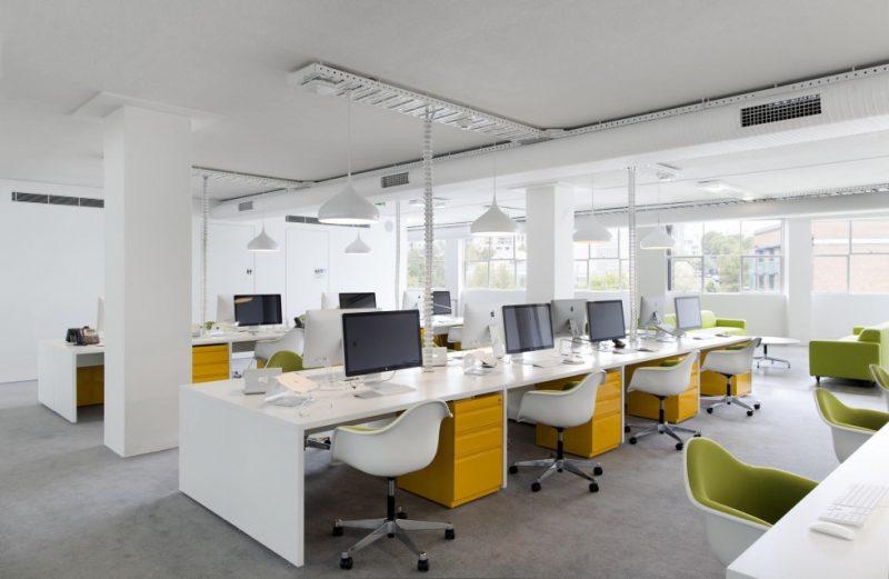 Bố trí ánh sáng văn phòng