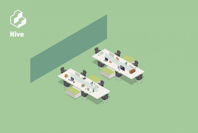 Không gian văn phòng Hive