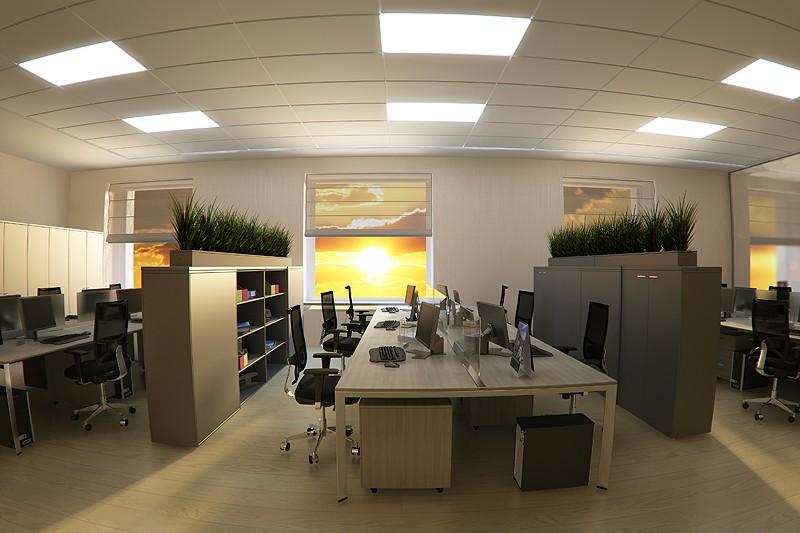 Không gian văn phòng nhỏ gọn