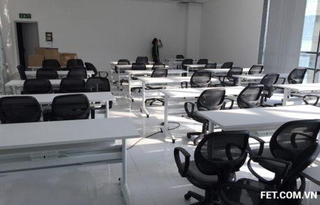 thi công nội thất Dentium tòa nhà Hadico Phạm Hùng