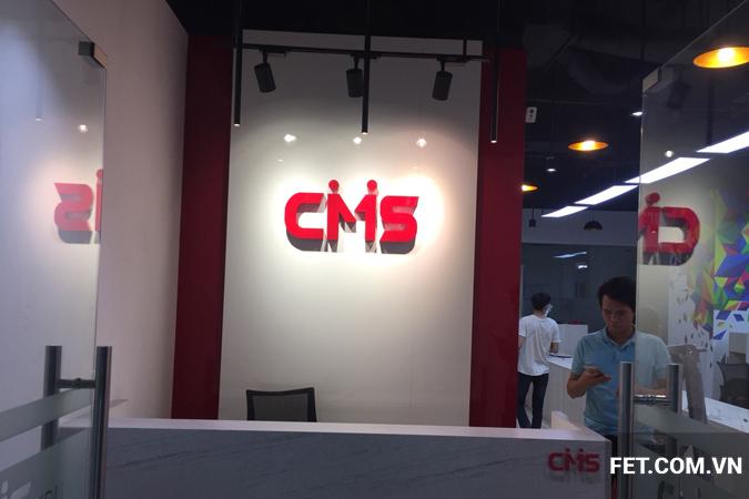 thi công nội thất trung tâm giáo dục CMS