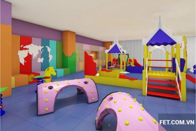 thiết kế nội thất dự án gymboree