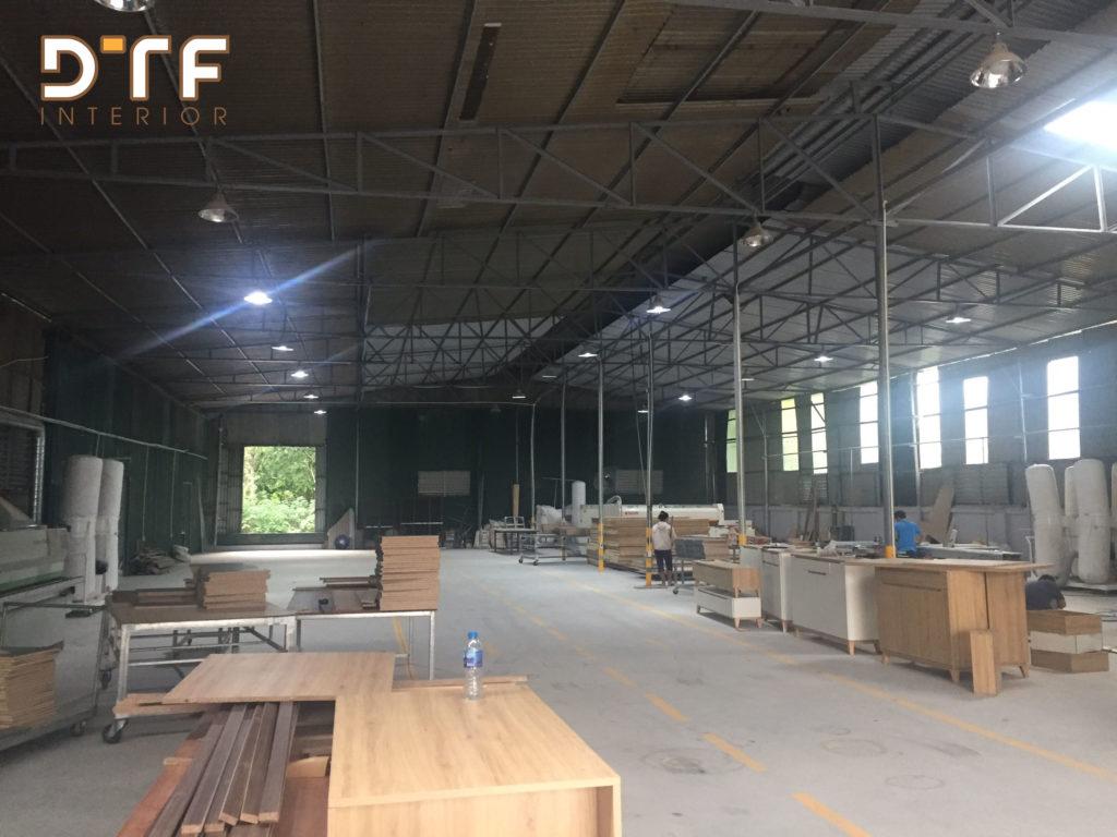 Nhà máy sản xuất đồ gỗ nội thất tại Hà Nội