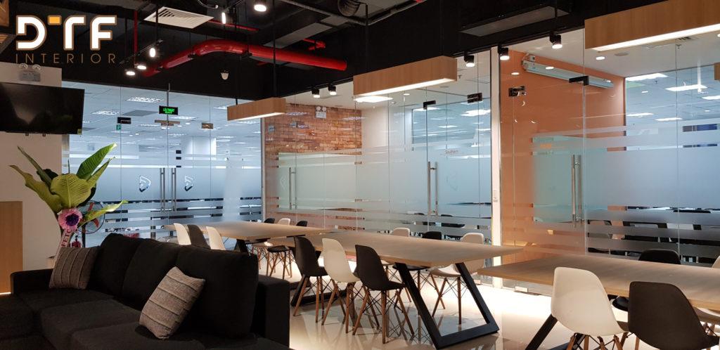 Thiết kế thi công nội thất văn phòng Framgia tại Đà Nẵng