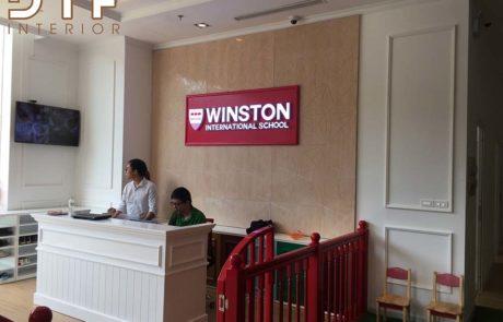 Thi công nội thất trường mầm non Winston Royal City