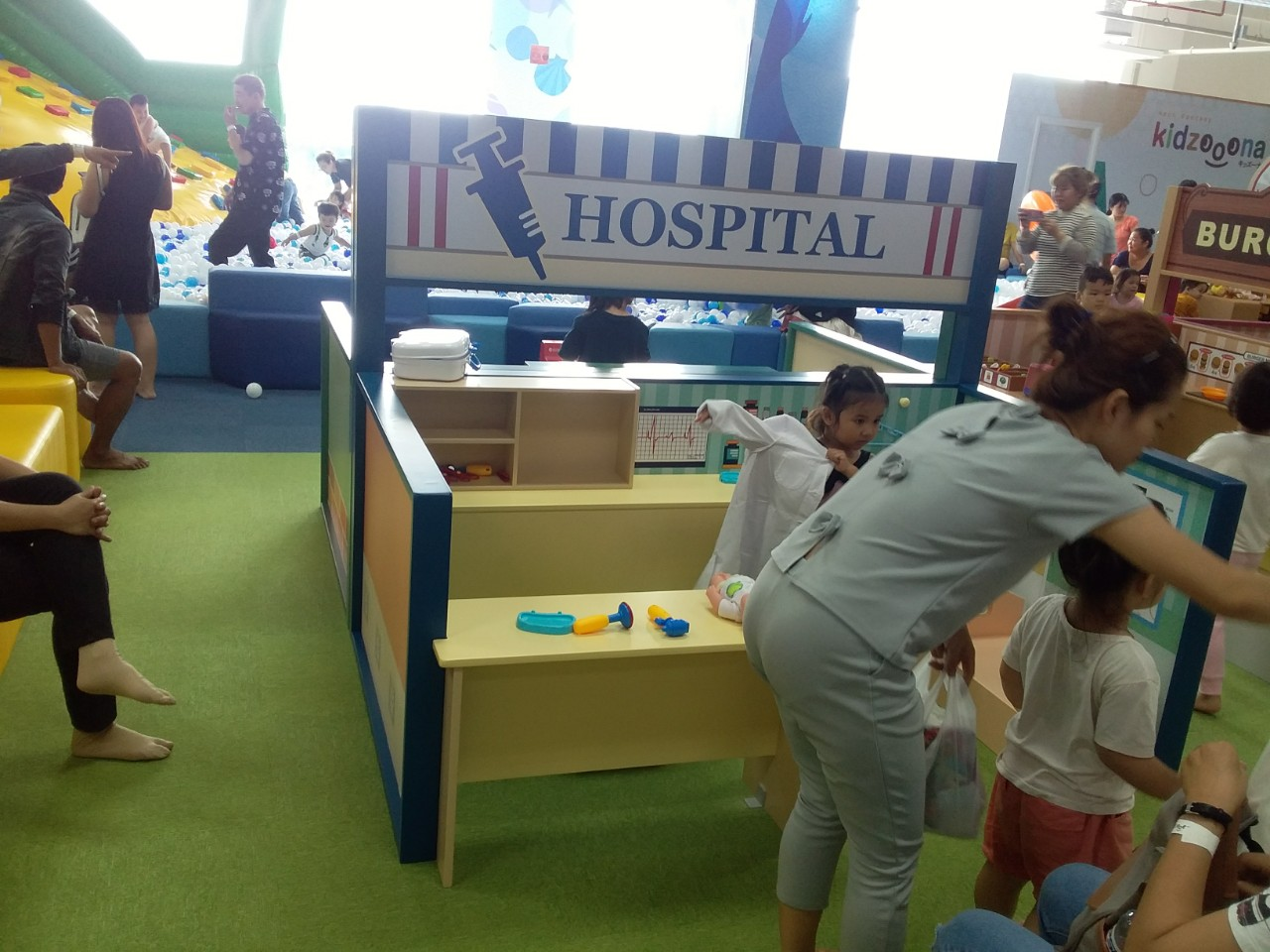 Thi công nội thất khu vui chơi trẻ em