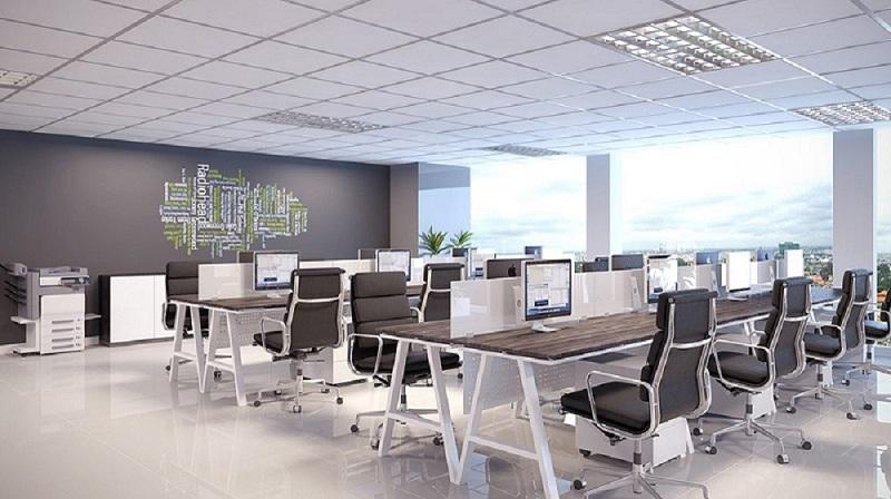 Thiết kế thi công nội thất văn phòng hiện đại