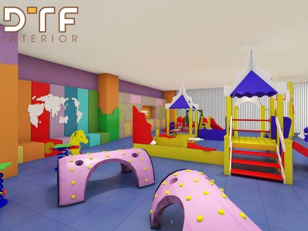 Thiết kế thi công nội thất trung tâm giáo dục Gymboree
