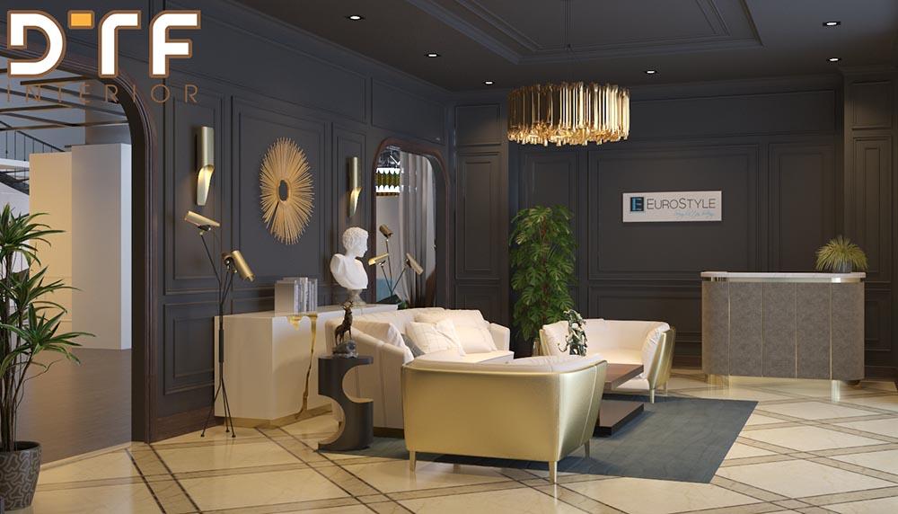 Thiết kế thi công nội thất biệt thự Almaz Riverside