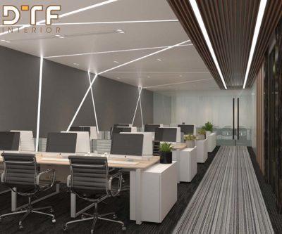 Thiết kế thi công nội thất văn phòng Honda Phố Huế