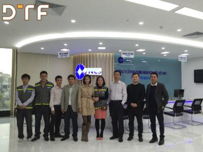 Thi công nội thất văn phòng chứng khoán kiến thiết VNCS Việt Nam