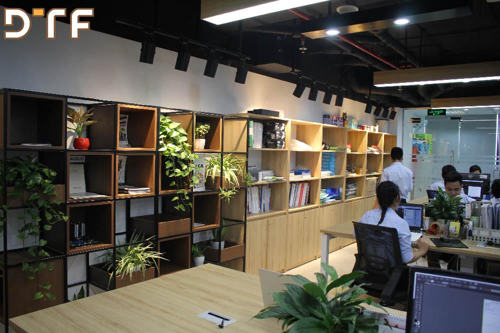 Thiết kế thi công nội thất văn phòng DTF Việt Nam
