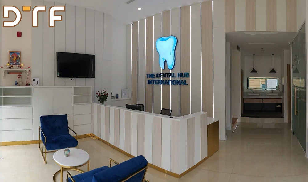 Thi công nội thất phòng khám nha khoa The Dental Hub International