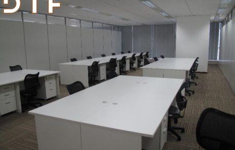 Thi công lắp đặt nội thất văn phòng Nissan Techno Việt Nam