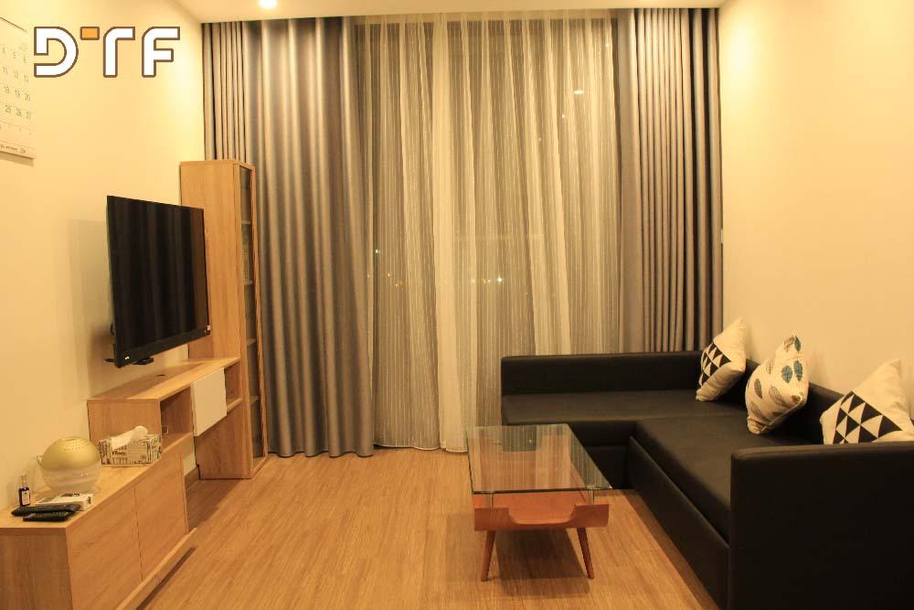 Thiết kế thi công nội thất căn hộ 75m2 Vincom Skylake Phạm Hùng
