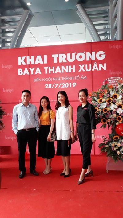 DTF hợp tác khai trương Nội thất Baya Thanh Xuân