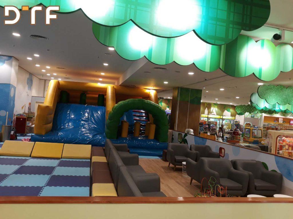 Thi công cải tạo khu vui chơi Kidzooona Bình Tân