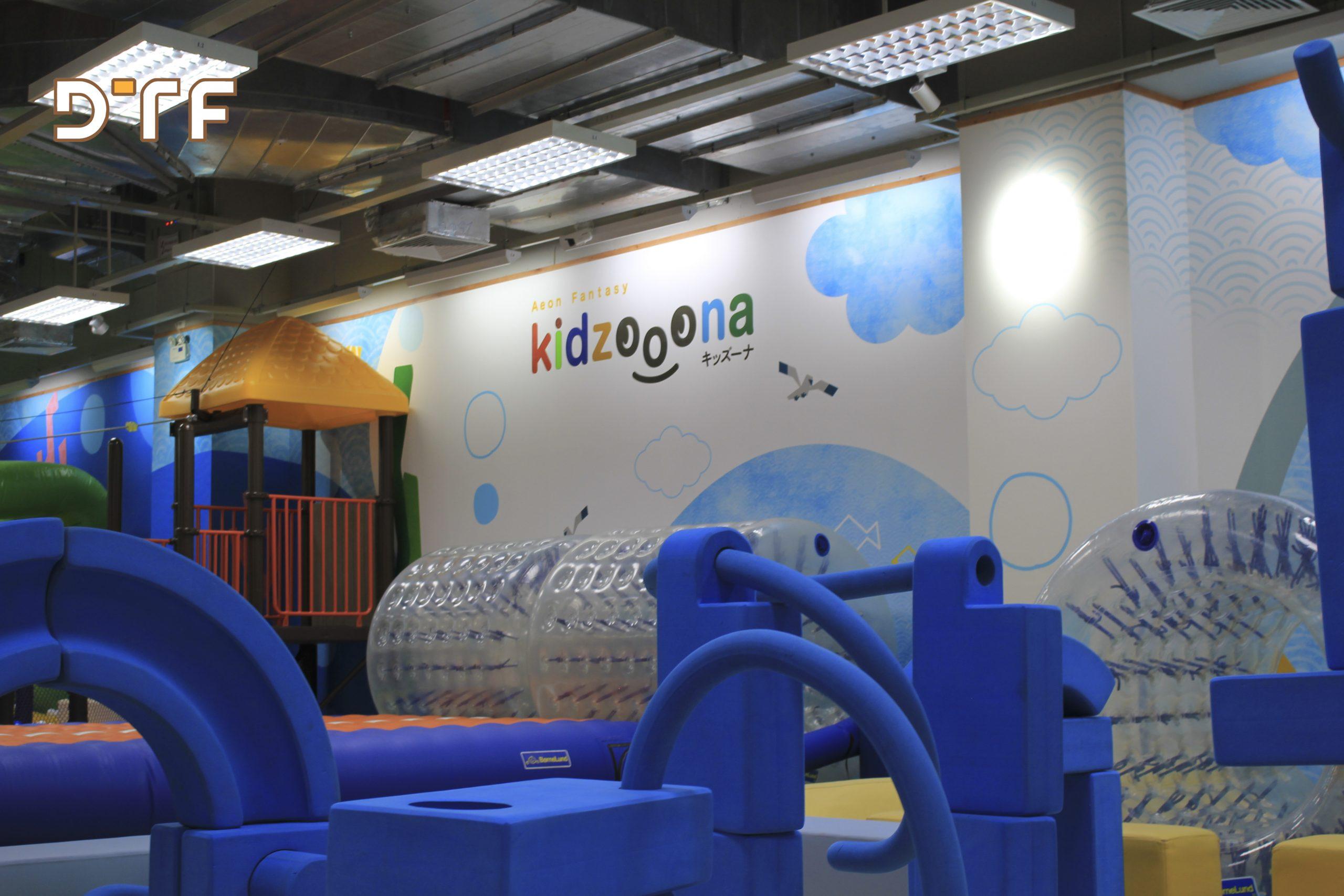 Thi công khu vui chơi trẻ em Kidzooona Hà Đông