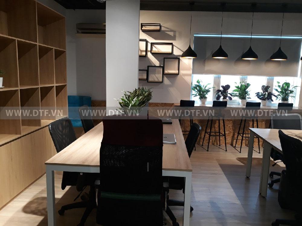 Văn phòng phong cách nhật bản kết hợp hiện đại tại Hồ Chí Minh