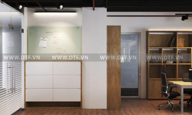 Thiết kế phong cách nhật bản cho văn phòng hiện đại