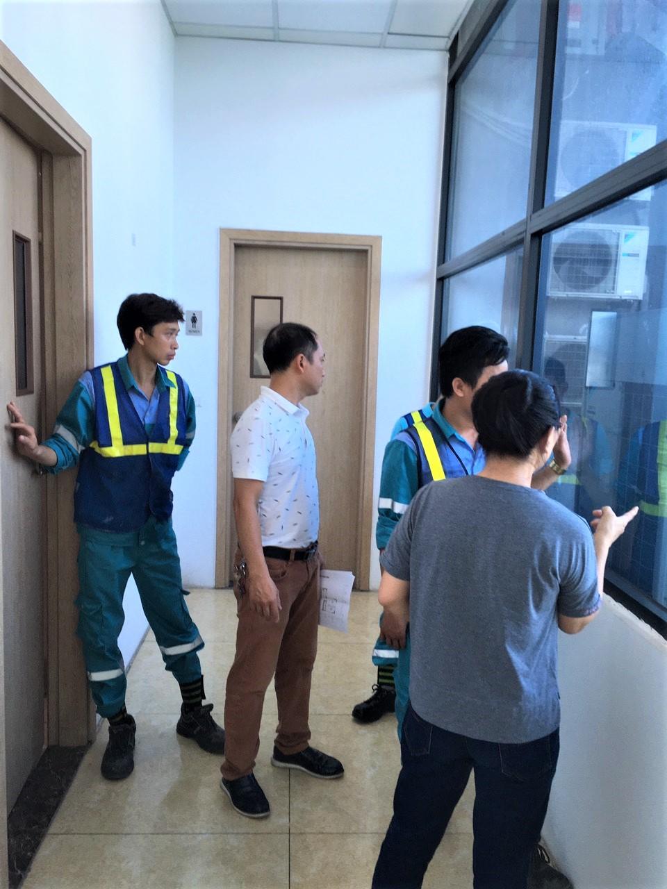 Bảo trì bảo dưỡng điều hòa tầng 14 tòa central point