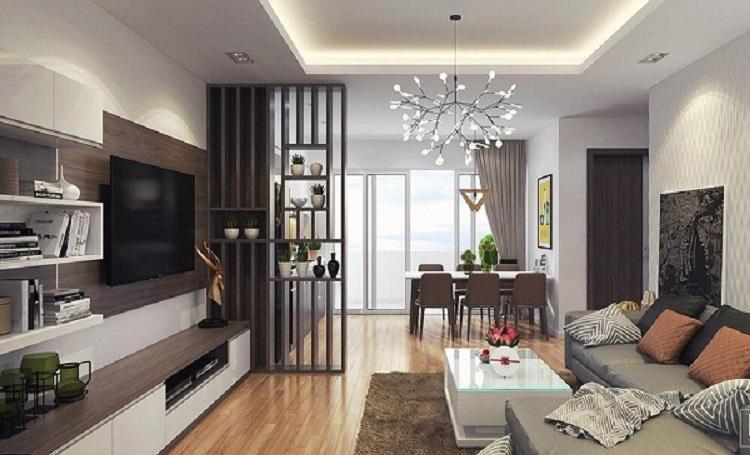 Thiết kế nội thất chung cư 70 m2 đẹp, hiện đại