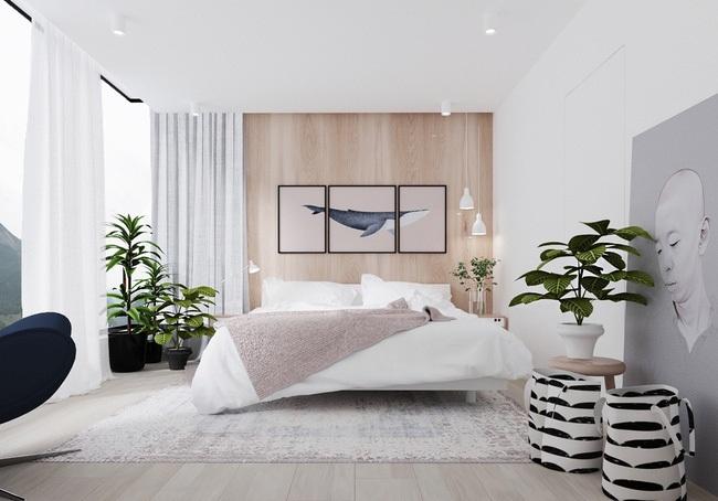 Những mẹo giúp bố trí không gian phòng ngủ nhỏ rộng và thoáng