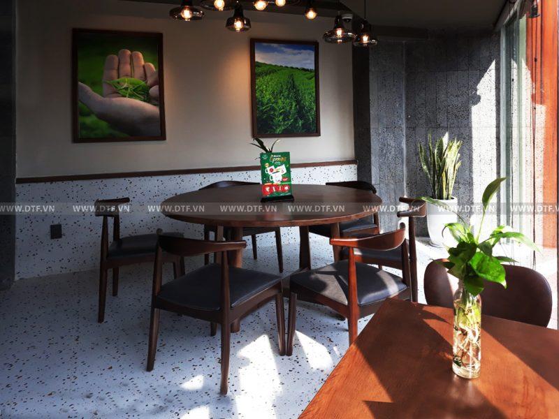 Thi công cửa hàng Phúc Long Phan Xích Long Coffee & Tea Hồ Chí Minh