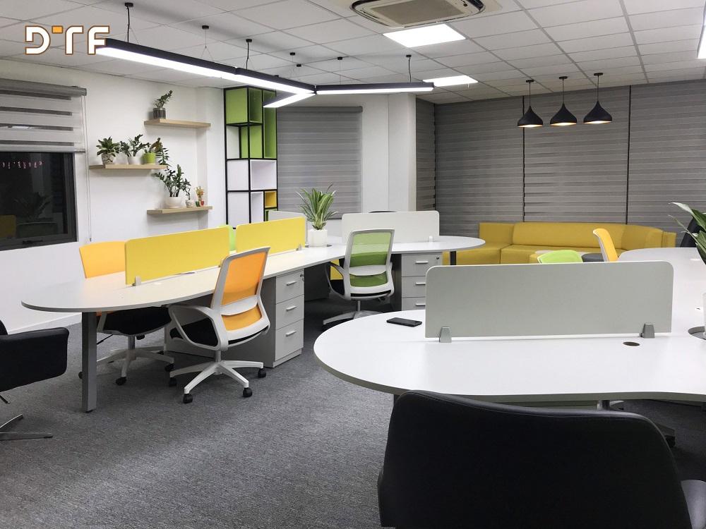 Thiết kế thi công văn phòng bất động sản Thành Đô