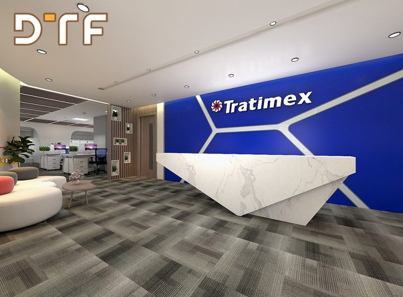 Thiết kế thi công văn phòng Tratimex Hà Nội