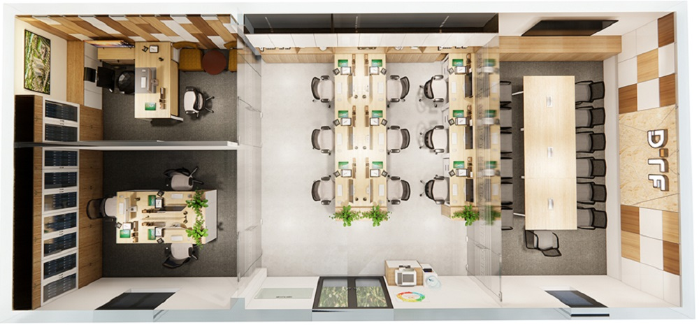 Khởi công mở rộng văn phòng DTF khu vực nhà máy Hà Nội năm 2021
