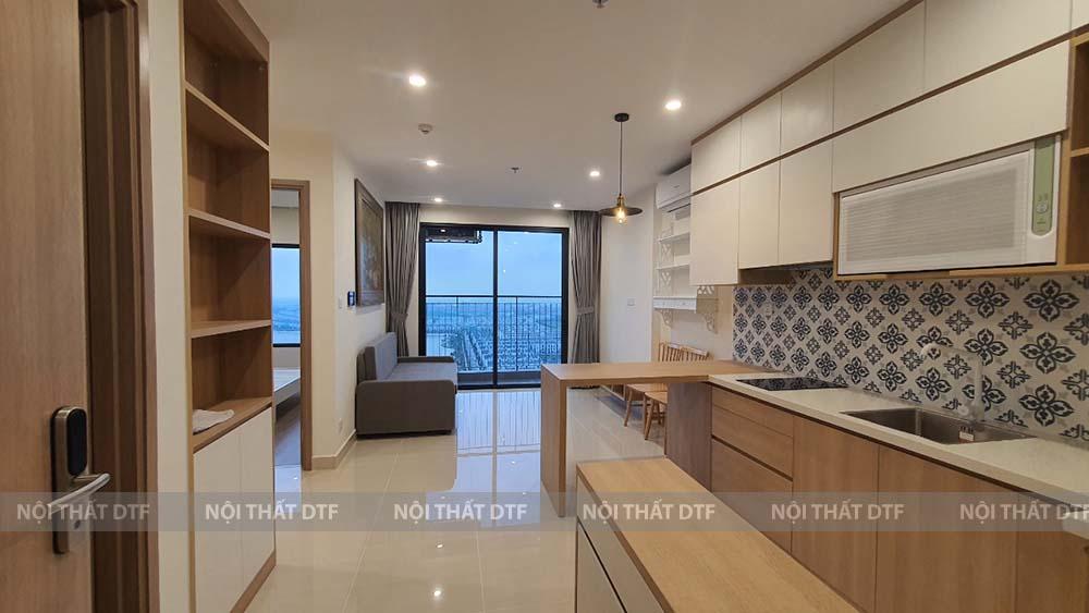 Thiết kế thi công nội thất chung cư 50m2 Ocean Park Gia Lâm