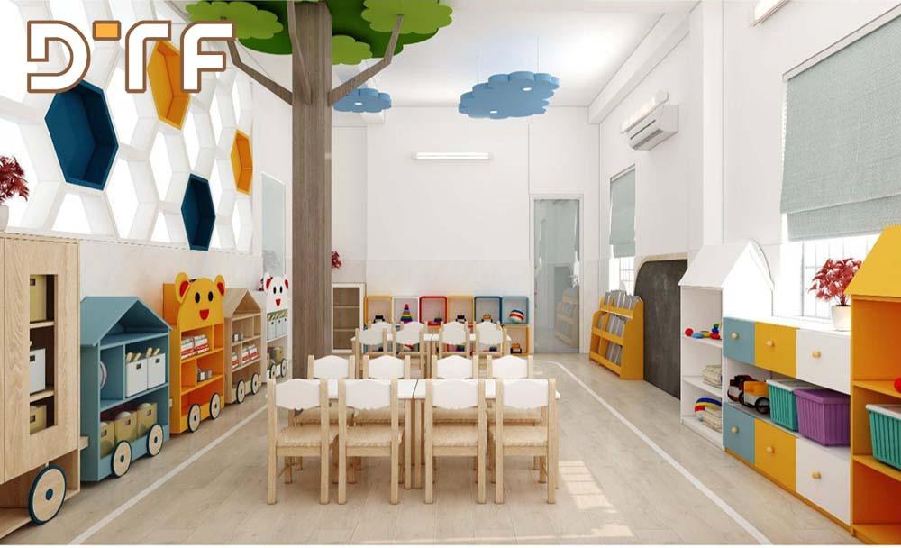 Thiết kế và thi công hệ thống trường mầm non Bambi K300 Hồ Chí Minh