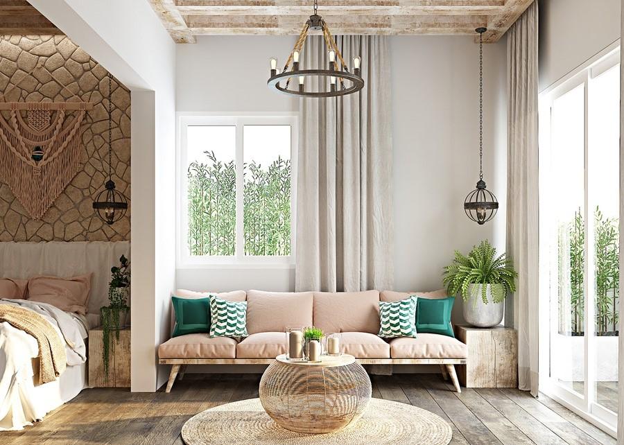 Tổng hợp các phong cách thiết kế – Phong cách Rustic