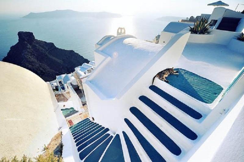 Tổng hợp các phong cách thiết kế – Phong cách Santorini