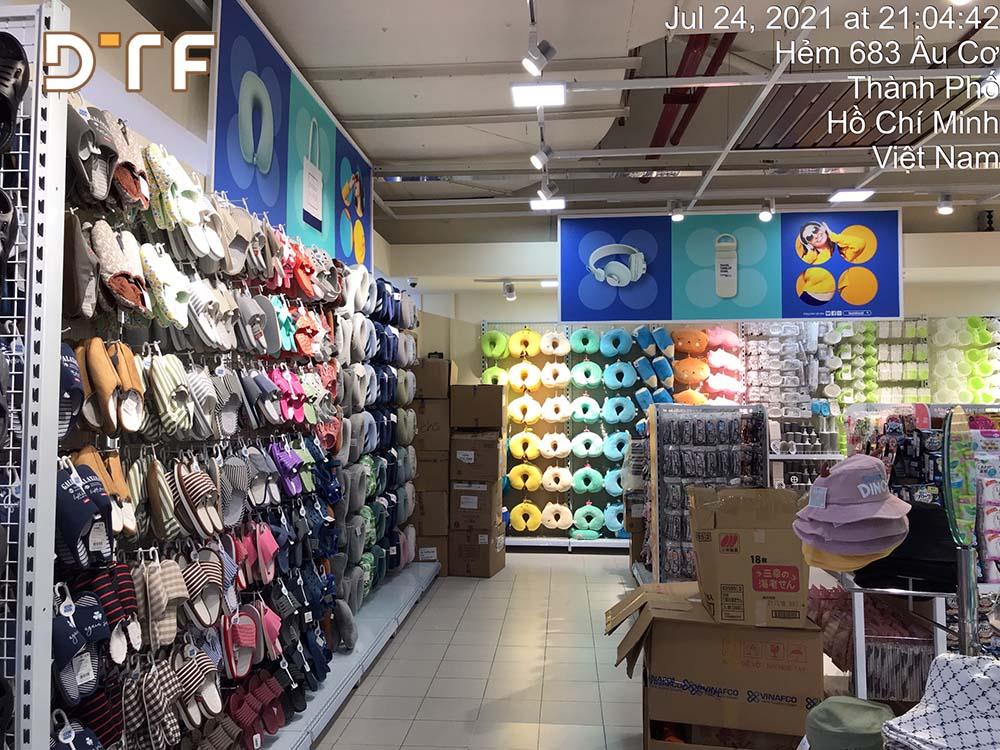 Thi công cửa hàng tiện ích LOOKKOOL Âu Cơ Hồ Chí Minh