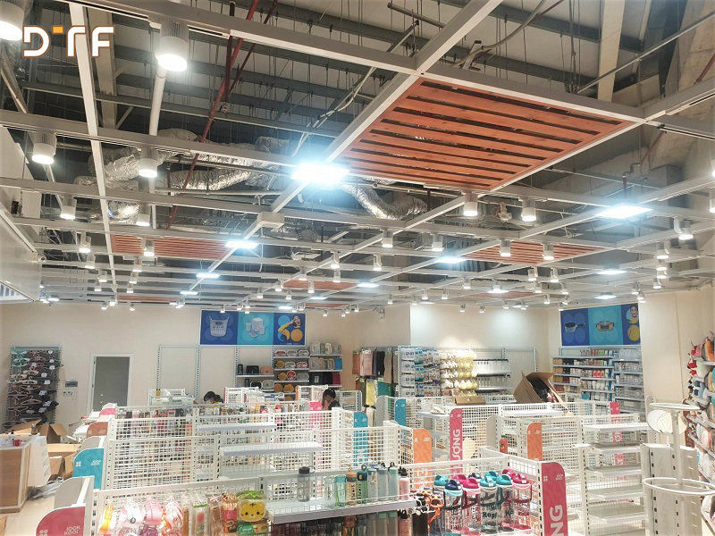 Thiết kế thi công cửa hàng tiện ích Lookkool tại Bắc Giang